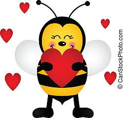 kärlek, bi