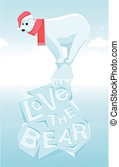 kärlek, den, björn