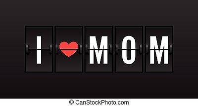 kärlek, mamma