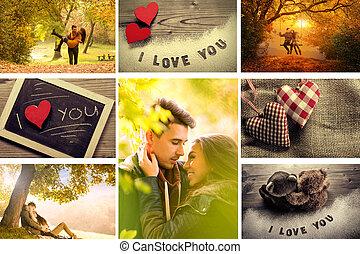 kärlek, montage