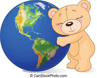 kärlek, mull, björn