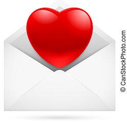 kärlek, posta
