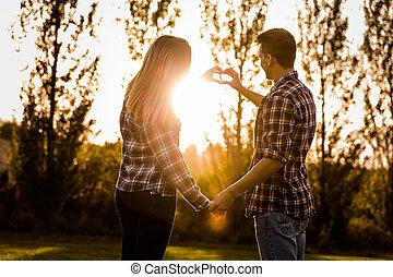 kärlek, promisses
