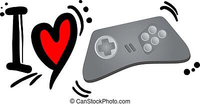 kärlek, spel