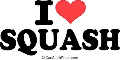kärlek, squash