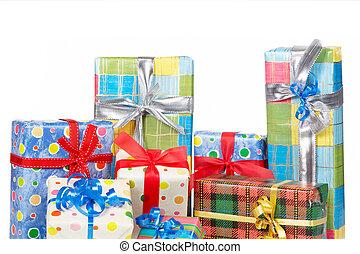 kästen, detail, geschenk