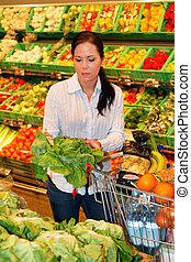 käufe, gemuese, fruechte, supermarkt