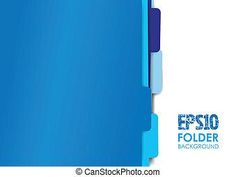 kék, állományokat, irattartó, dolgozat
