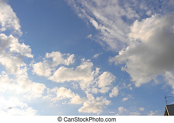 kék ég, noha, elhomályosul
