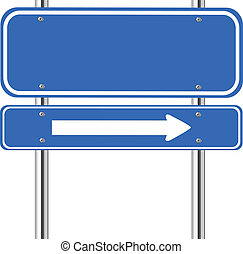 kék, aláír, Forgalom, nyíl, tiszta, fehér