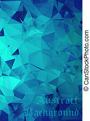 kék, astract, háttér
