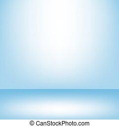 kék, belső, műterem, háttérfüggöny