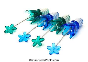 kék, caps., palack, műanyag