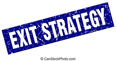 kék, derékszögben,  grunge, bélyeg, stratégia, kijárat