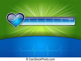 kék, egészség