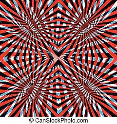 kék, elvont, egyenes, háttér, piros