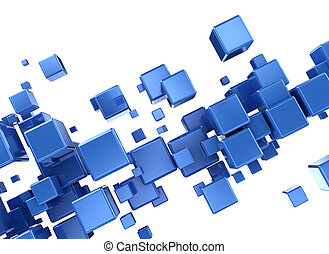 kék, elvont, kikövez, háttér, 3