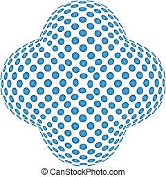 kék, elvont, motívum