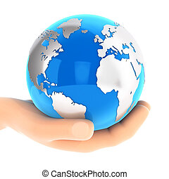 kék, földdel feltölt, 3, hatalom kezezés