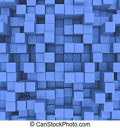 kék, háttér., elvont, kikövez