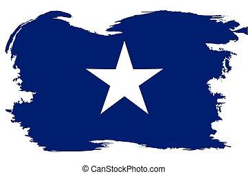 kék, határ, grunge, white lobogó, bonnie
