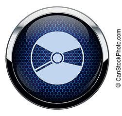 kék, icon., átlyuggatott díszítés, cd