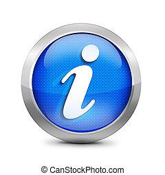 kék, jelkép, ikon