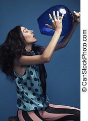 kék, képzelet
