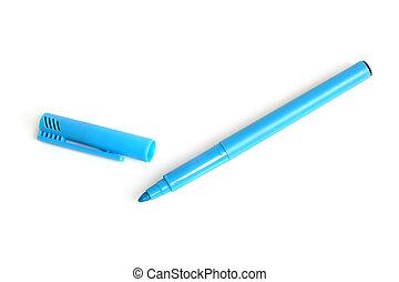 kék, könyvjelző
