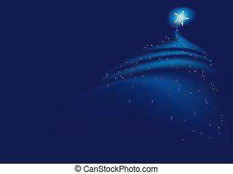 kék, karácsony