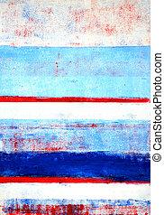 kék, Kivonat, művészet, fehér, piros