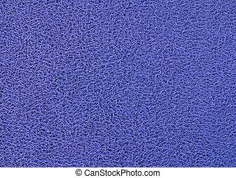 kék, lábtörlő, háttér, struktúra, műanyag