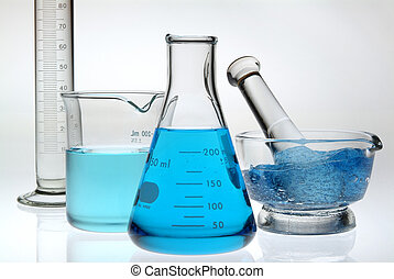 kék, laboratórium