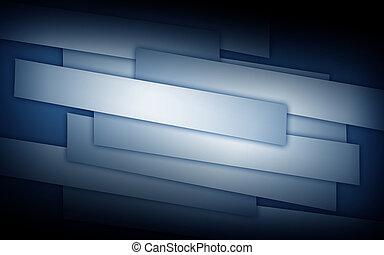 kék, leszed, elvont, dolgozat, háttér, kép