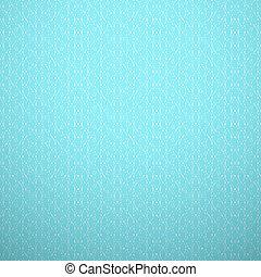 kék, mód, megtölt., szerkezet, háttér., fal, motívum, elvont, ív, seamless, struktúra, kötött, finom, könyv, vektor, finom, fehér, víz, pattern., cover., illustration.