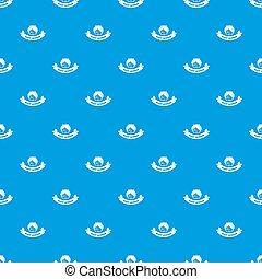 kék, motívum, ablak, seamless, éjszaka