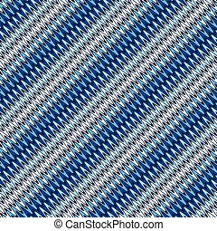 kék, motívum, megvonalaz, seamless, átló, hullámos, csíkos, fehér