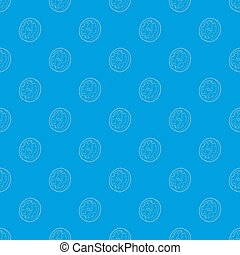 kék, motívum, seamless, iránytű