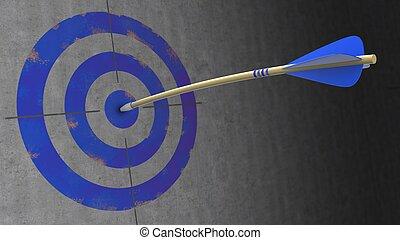 kék, nyíl, 3