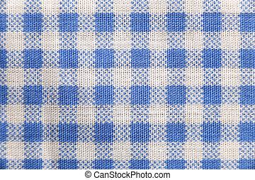 kék, skót, pattern., szerkezet, struktúra