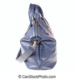 kék, táska