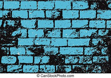 kék, téglák