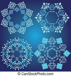 kék, tervezés elem