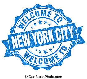 kék, város, szüret, fogadtatás, elszigetelt, york, fóka, új