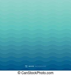kék, víz alatti, elvont, megvonalaz, struktúra, háttér, lenget