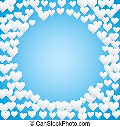kék, valentines nap, háttér
