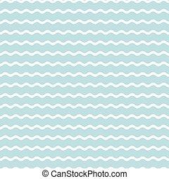 kék, vektor, pattern., seamless, lenget, háttér