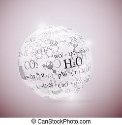 kémiai, gömb