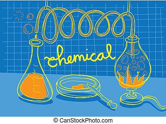 kémiai, kísérlet