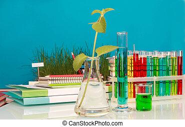 kémiai, palackok, folyékony